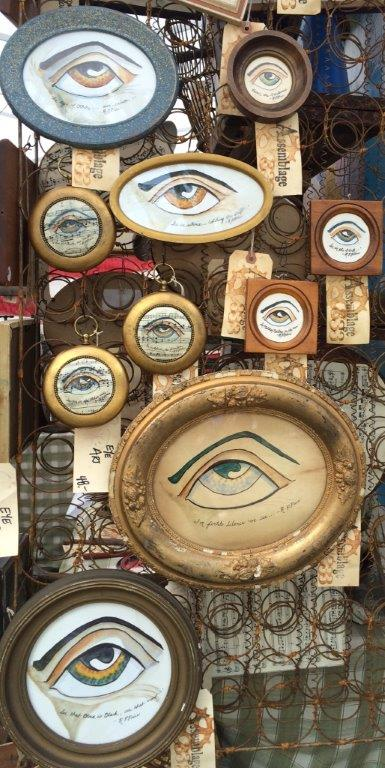 Brimfield, eye art
