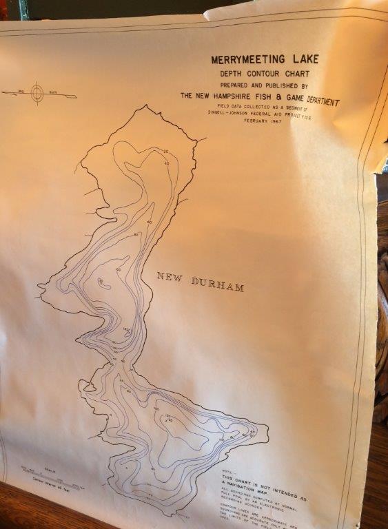 Brimfield, NH map