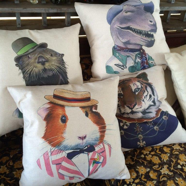 Brimfield, pillows
