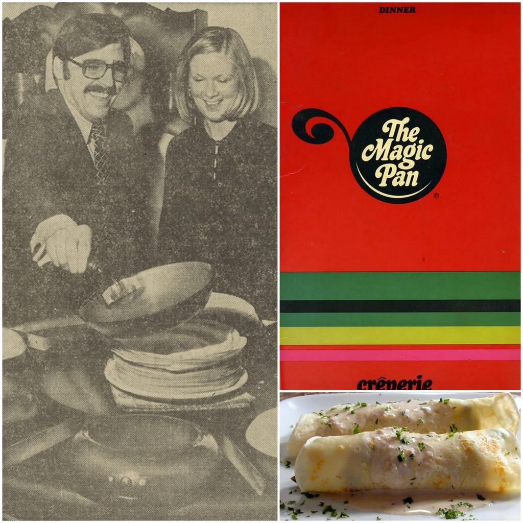70's food, Magic Pan