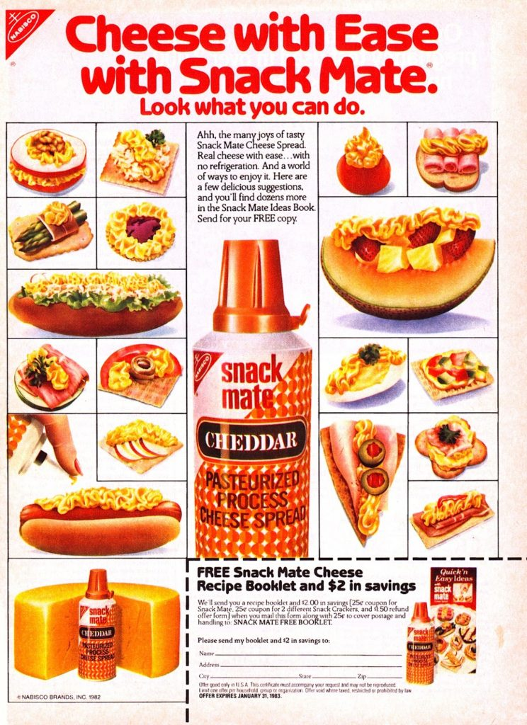 70s food, Snack Mate