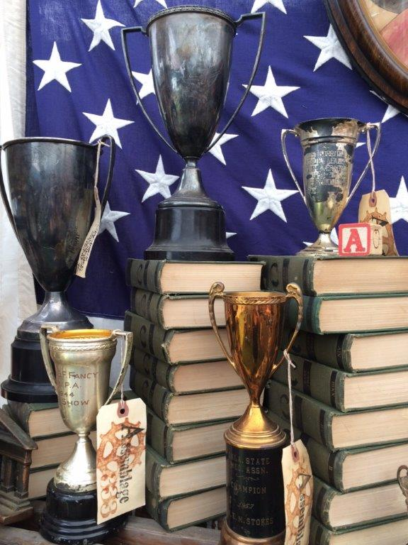 Brimfield, trophies