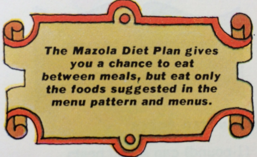 Mazola Diet Plan tip