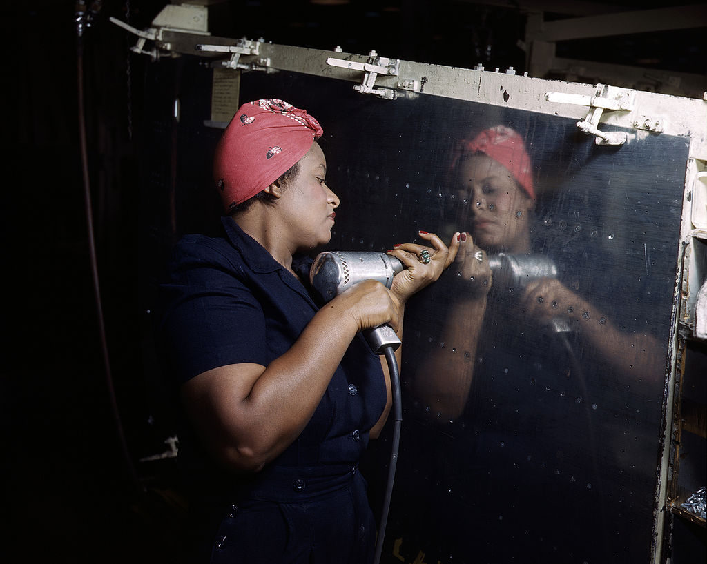 Rosie the Riveter, for real