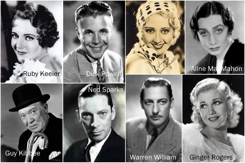 Gold Diggers of 1933 cast