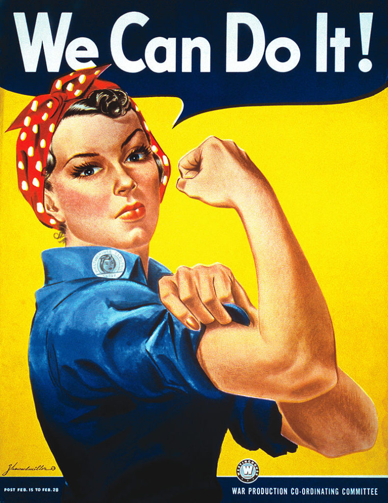 Rosie the Riveter, We Can Do It