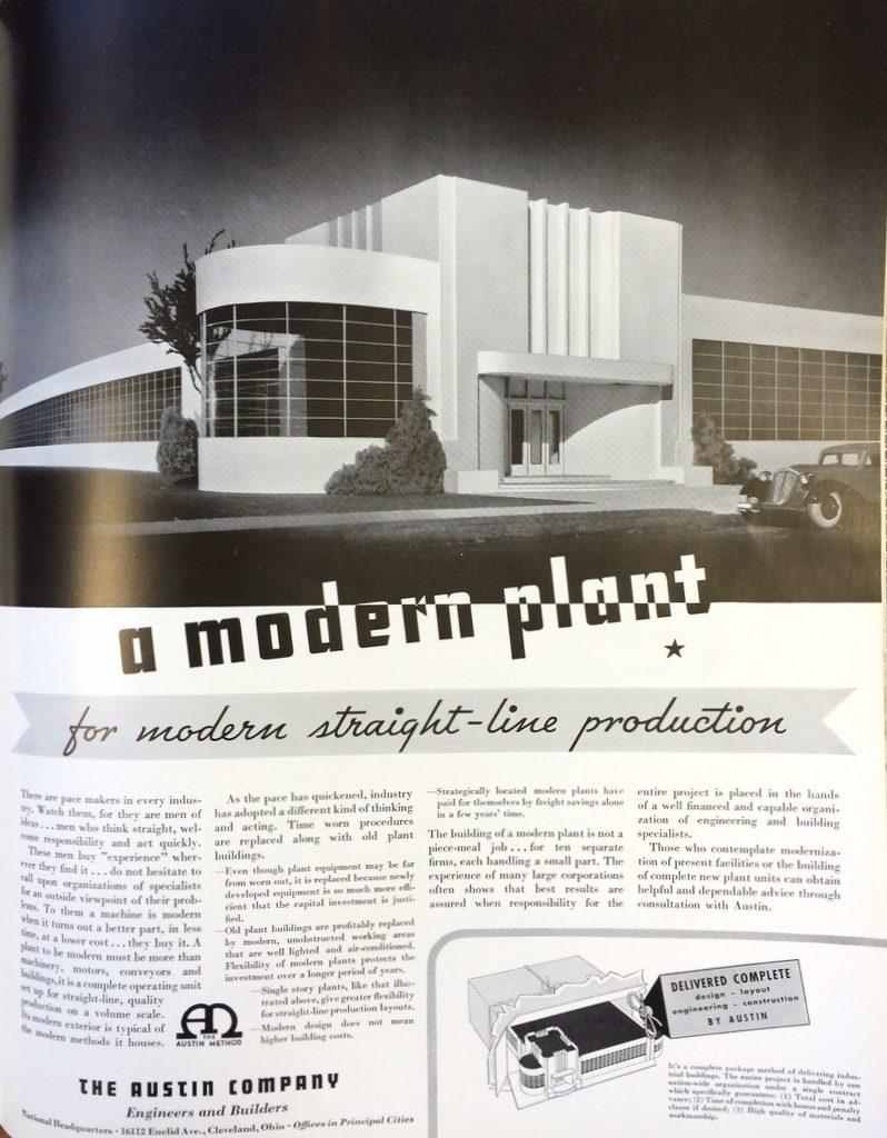 Fortune Mag, July 1935, Austin Co. ad