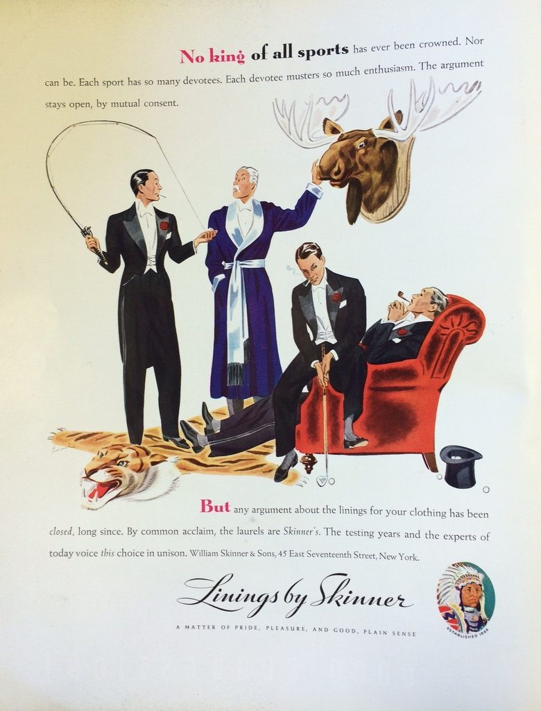 Fortune Mag, July 1935, Skinner ad