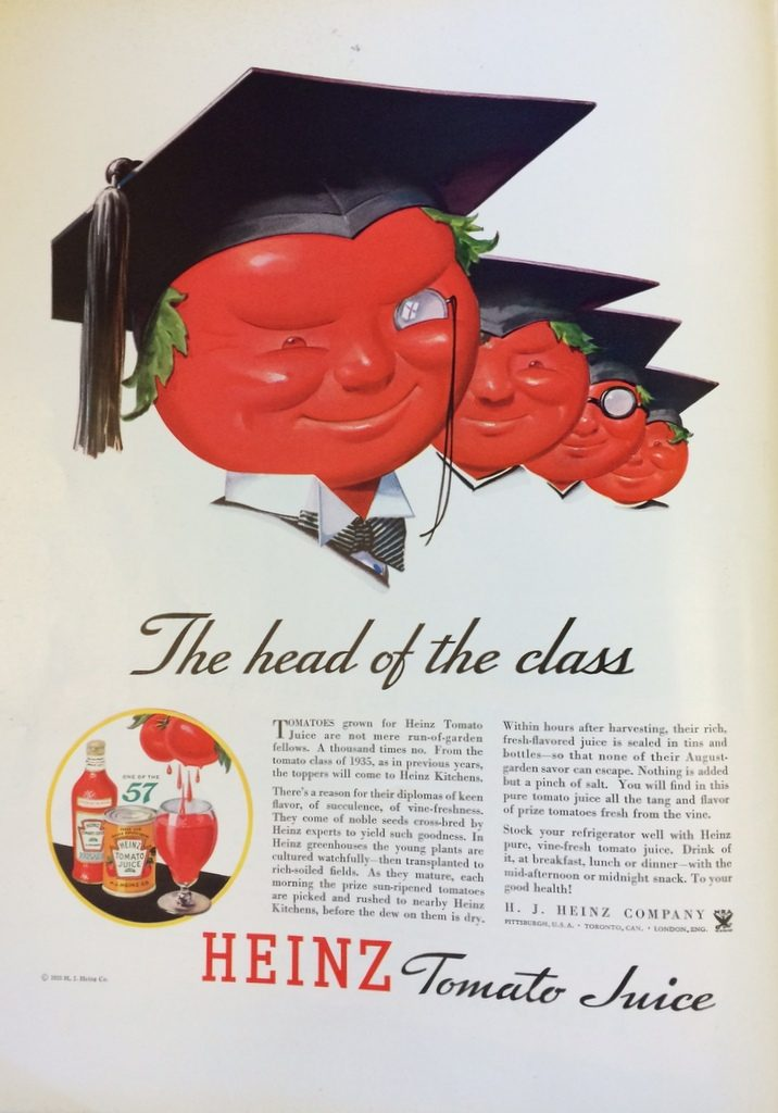 Fortune Mag, July 1935, Heinz Ad