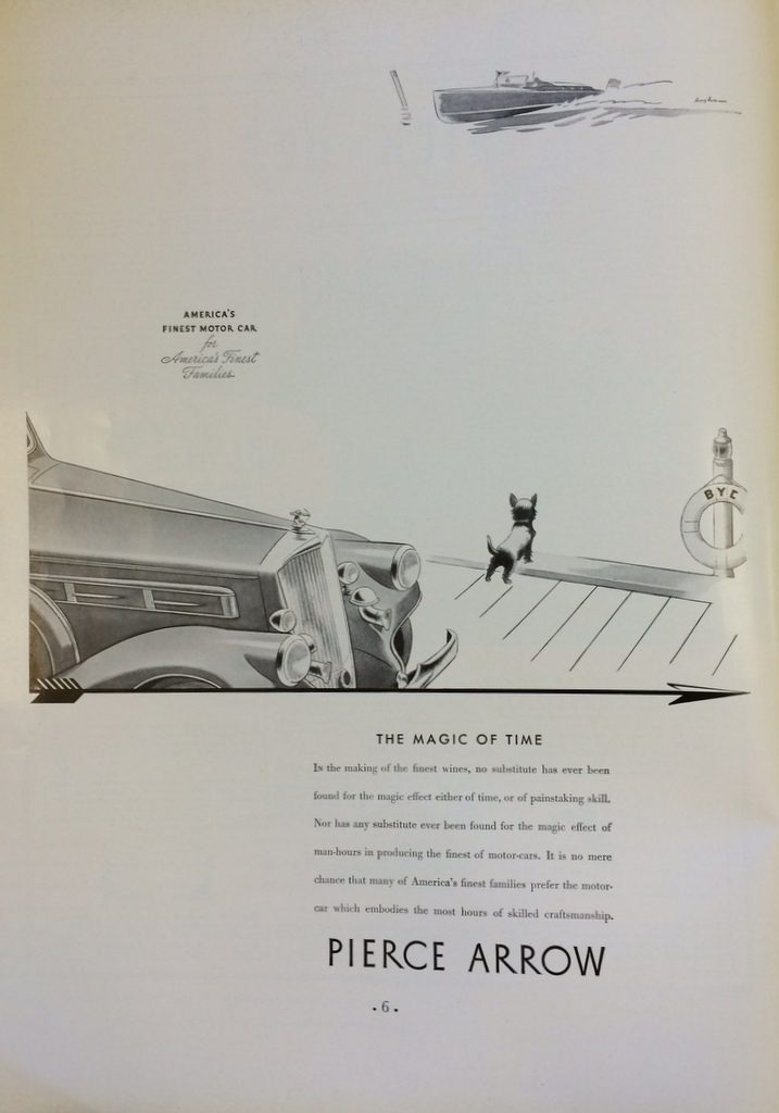 Fortune Mag, July 1935, Pierce Arrow Ad