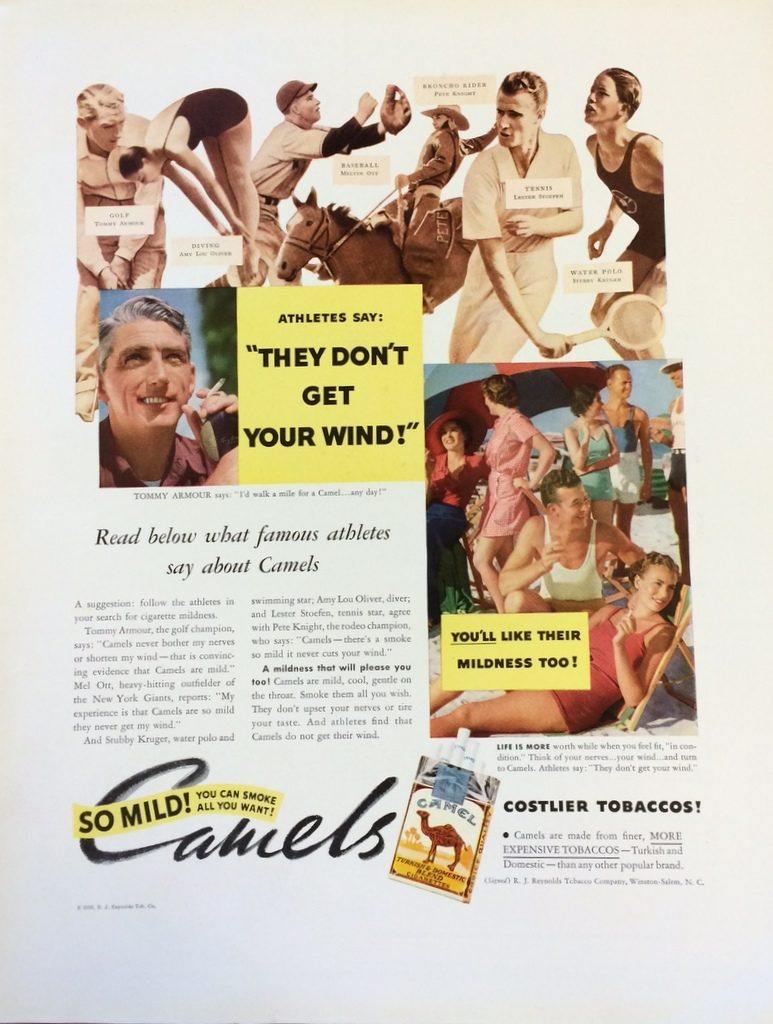 Fortune Mag, July 1935, Camel ad