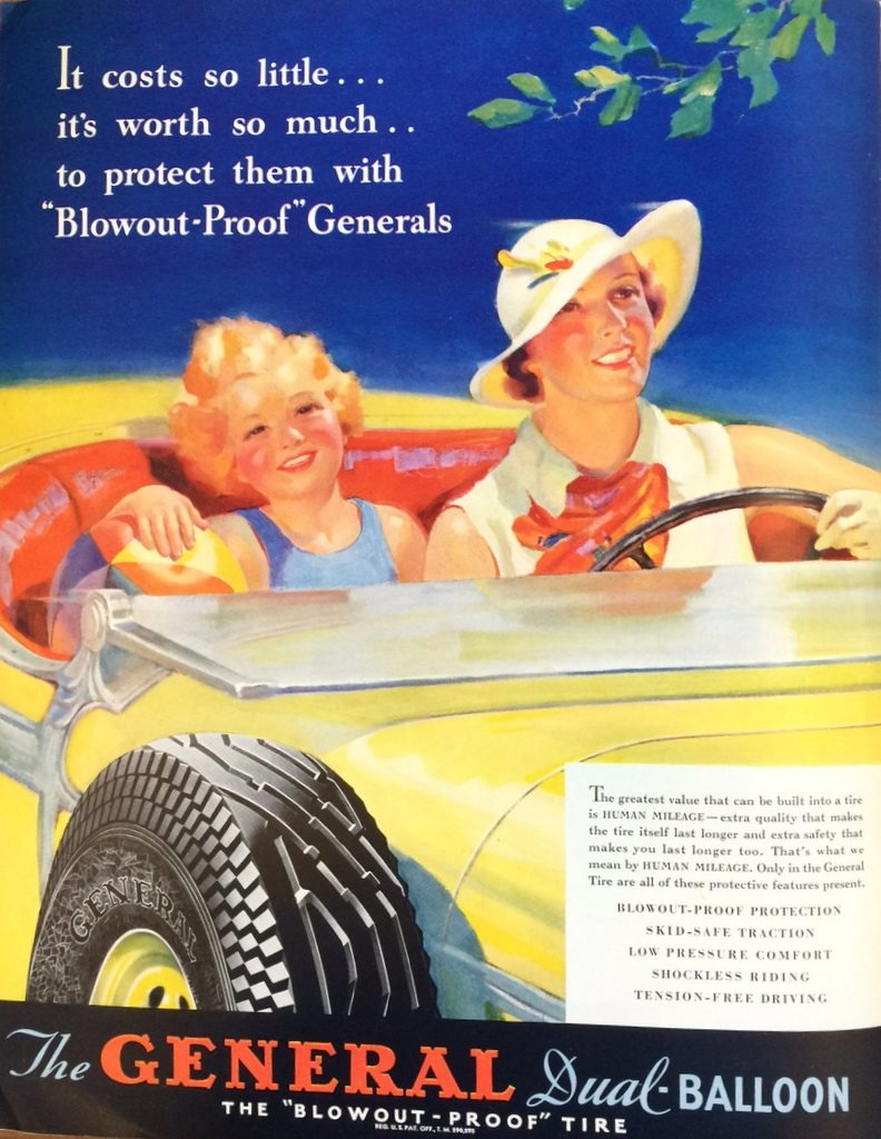 Fortune Mag, July 1935, General Tire ad