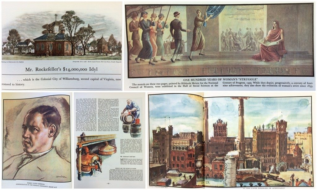 Fortune Mag, July 1935, art examples
