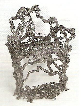 Rustic antique chair, 18c China
